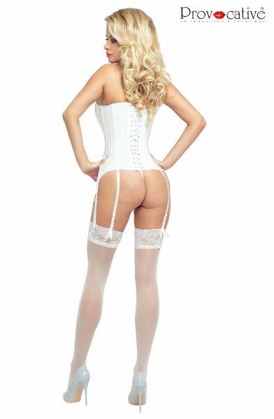 Picture of Provocative Corset White PR4886