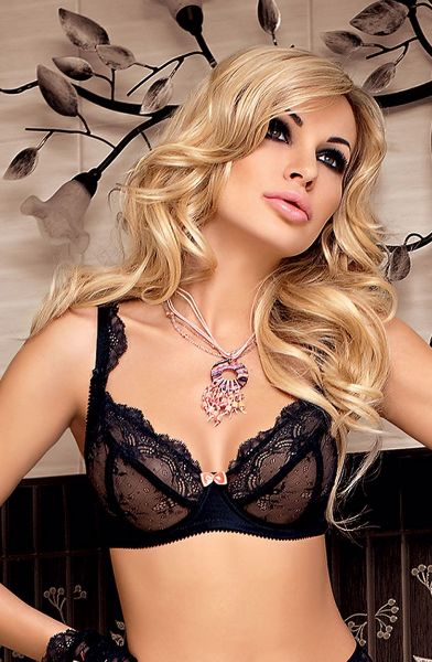 Picture of Roza Ambre Soft Cup Bra Black ROZAMBSBRABLK