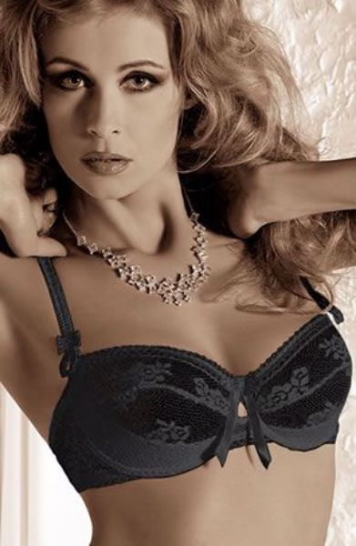 Picture of Roza Euterpe Bra Black ROZEUTBRABLK