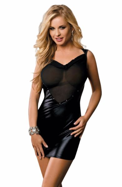 Picture of YesX YX321 Dress Black YESYX321