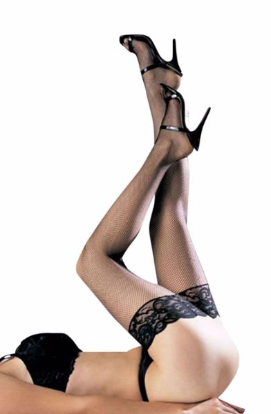 Picture of YesX YX411 Stockings Black YESYX411