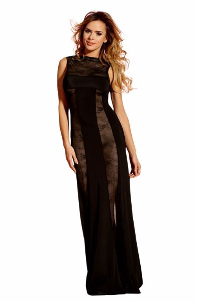 Picture of YesX Dress Black YX158