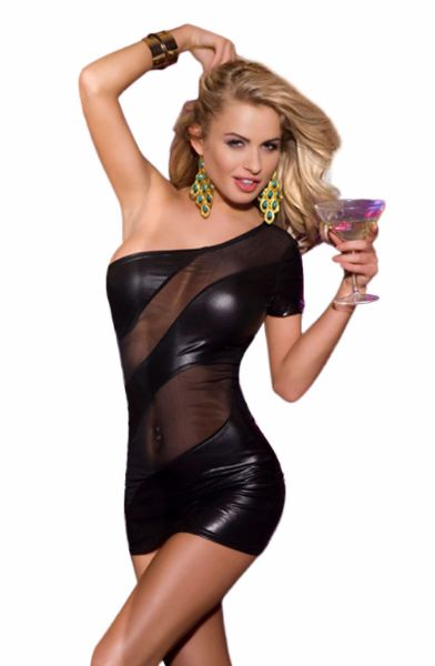 Picture of YesX Dress Black YX324