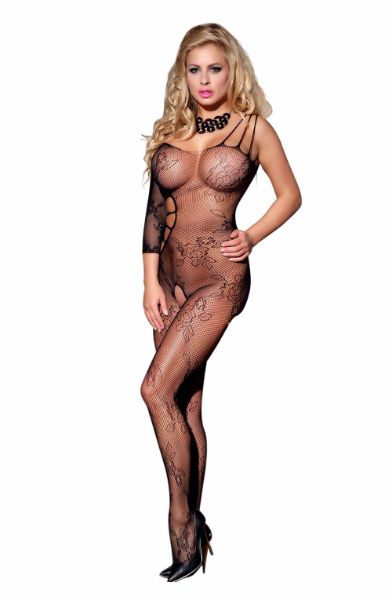 Picture of YesX Bodystocking Black YX939