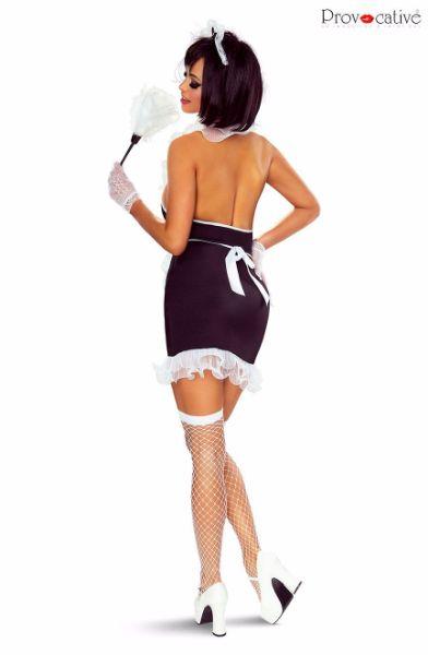 Picture of Provocative Maid Costume Black/White PR1310