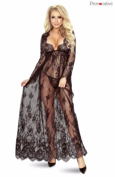 Picture of Provocative Robe Black PR5080