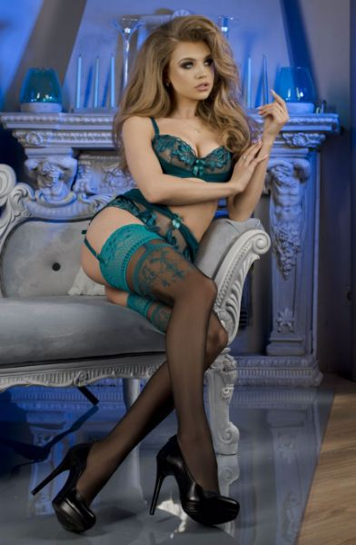 Picture of Ballerina 464 Hold Ups Black BAL464BLK
