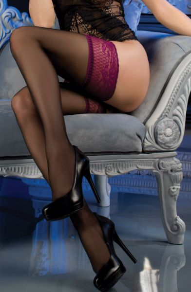 Picture of Ballerina 479 Hold Ups Black BAL479BLACK
