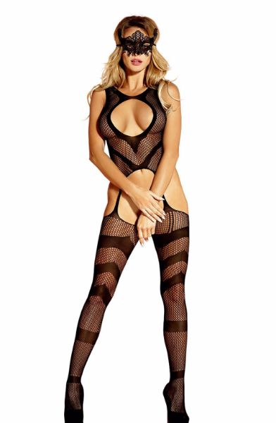 Picture of Yesx 177 Body Stocking Black
