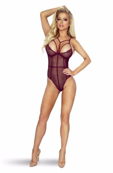 Picture of Provocative  AUBERGINE soft stretchy body PR7022