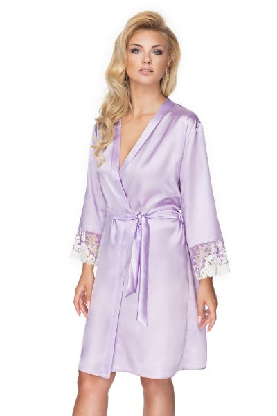 Picture of Irall Andromeda Dressing Gown Lavender IRANDROMEDADGOWNLAV