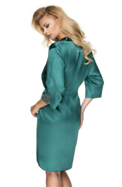 Picture of Irall Dressing Gown Dark Green