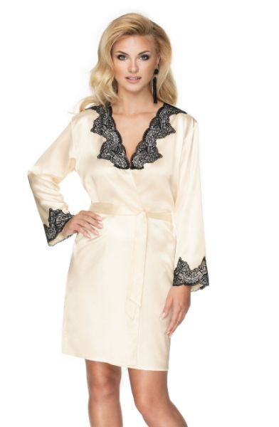 Picture of Irall Juniper Dressing Gown Cream