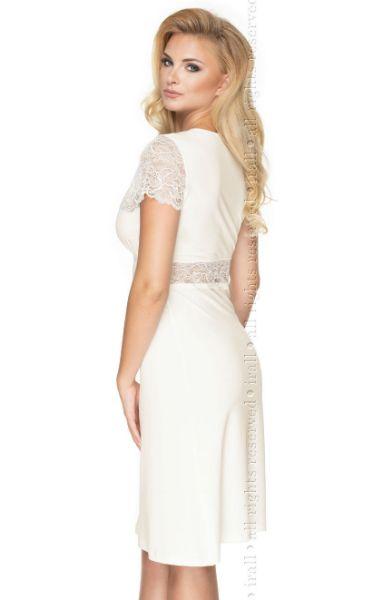 Picture of Irall Cameron Nightdress Cream Plus Sizes IRCAMNDCREPLUS