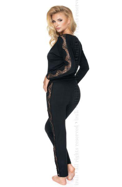 Picture of Irall Pandora Black Pyjama IRPANDOPJSBLK