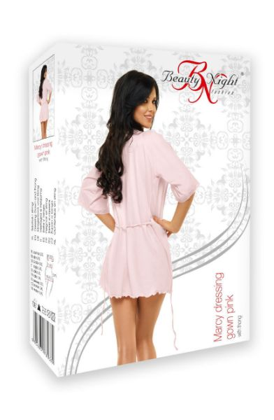 Picture of Beauty Night Marcy Dressing Gown Pink BN6520