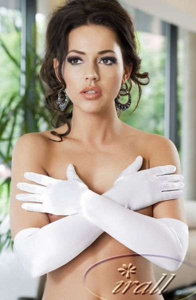 Picture of Irall Erotic Astrid Gloves White