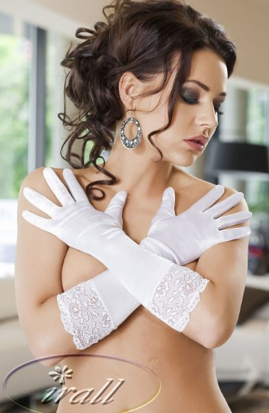 Picture of Irall Erotic Nora Gloves White