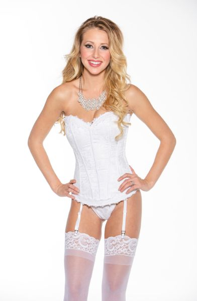 Picture of Shirley of Hollywood 26918 Corset White