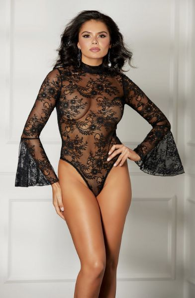 Picture of Shirley of Hollywood 31514 Lace Bodysuit