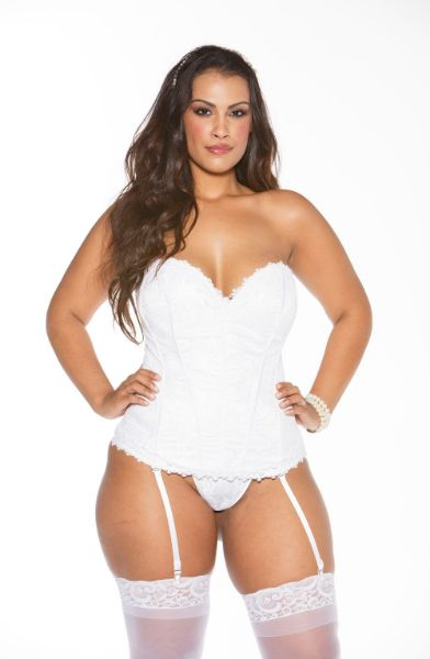 Picture of Shirley of Hollywood X26918 Corset White