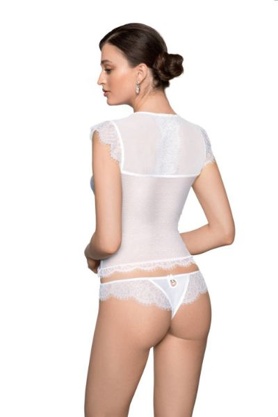 Picture of Roza Erii White THONG