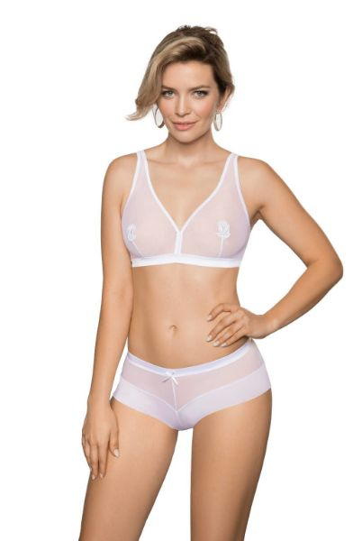 Picture of Roza Lisbet White Soft Cup BRA