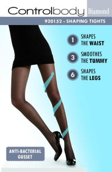 Picture of Control Body 920152D Shaping Tights Nero