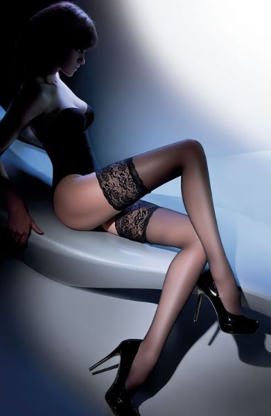 Picture of Gabriella Calze Exclusive 201 Hold Ups Nero